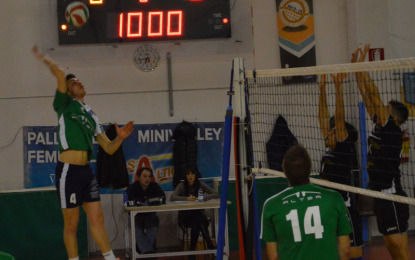 ALTEA, VINCE 3/0 CON VOLLEY MONTANARO