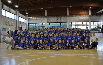 MINIVOLLEY, PIENO SUCCESSO ALL'ESORDIO!