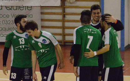 VOLLEY NOVARA CONFERMA LA LEADERSHIP, ALTEA KO 3/0