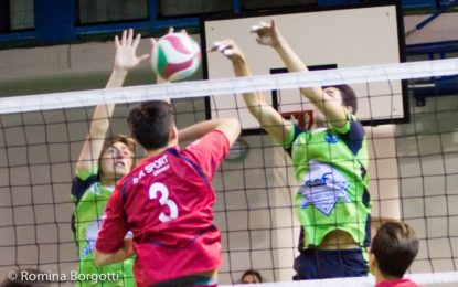 ALTIORA, BRUSCA FRENATA. RED VOLLEY VINCE 3/1